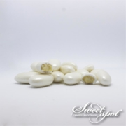 Pearly Almond Dragees - White