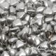 Mini Chocolate Hearts - Silver