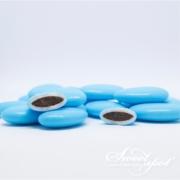 Dragées Chocolat Brillantes – Bleu