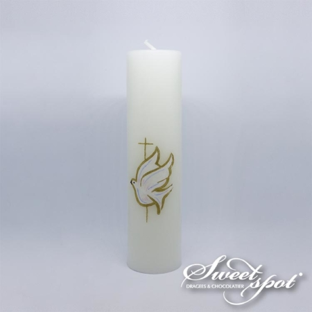 Dove VIP Candle - Gold
