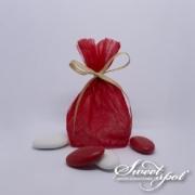 Bourse Nuage - Rouge