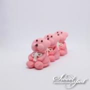 Sugar Teddy Bear - Pink