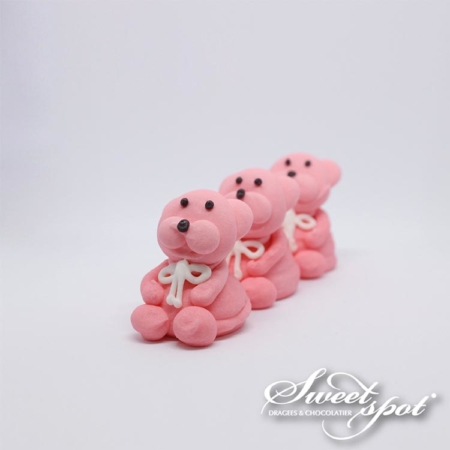 Sugar Teddy Bear - Pink