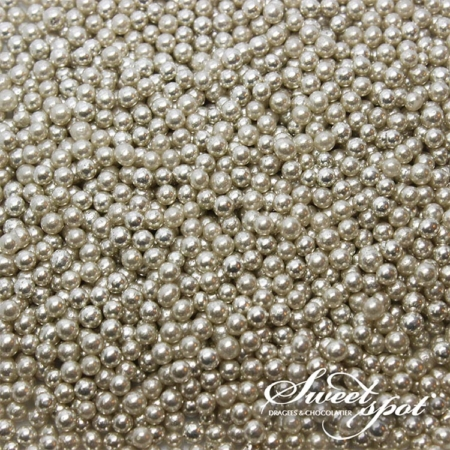 Sugar Pearls - Silver