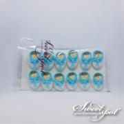 Chocolate Dragés Sugar Doll - Blue