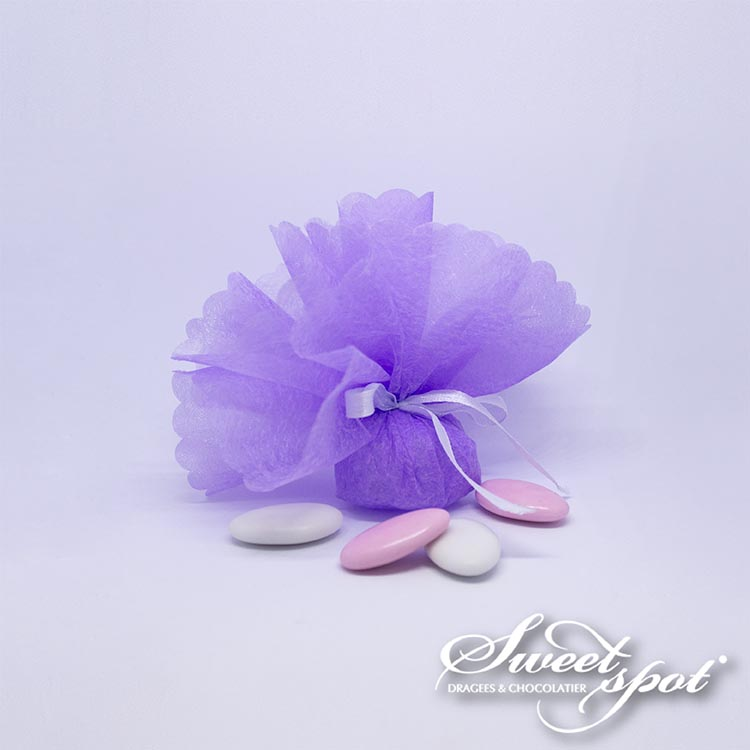 Cloud Circle - Lilac
