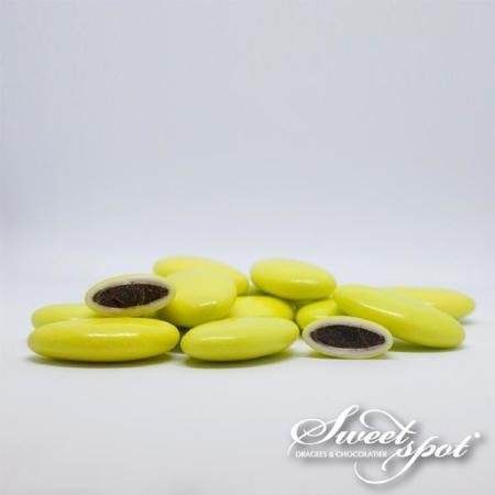 Dragées Chocolat Brillantes – Vert