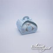 Teddy Bear Bubble Box - Blue