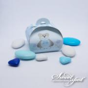 Boîte Bulle Teddy Bear - Bleu