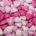 Mini Chocolate Hearts - Pink
