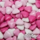 Mini Chocolate Hearts - Pink