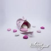 Boîte Bulle Teddy Bear - Rose