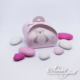 Teddy Bear Bubble Box - Pink