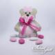 Boîte Debout Teddy Bear - Rose