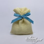 Hessian Candy Bag - Beige