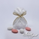 Linen Candy Bag - White