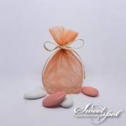Cloud Candy Bag - Salmon