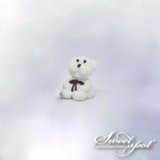 Sugar Teddy Bear - White