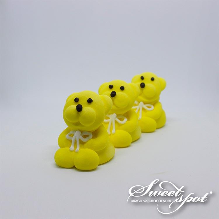 Sugar Teddy Bear - Yellow