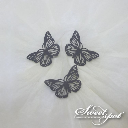 Metal Butterflies - Grey