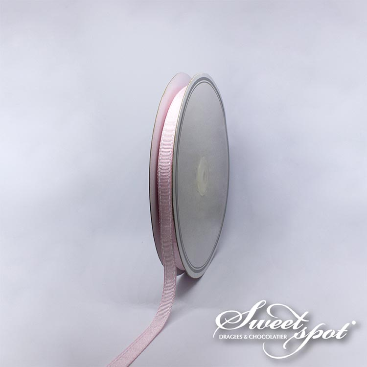 Ruban Scia 10mm - Rose