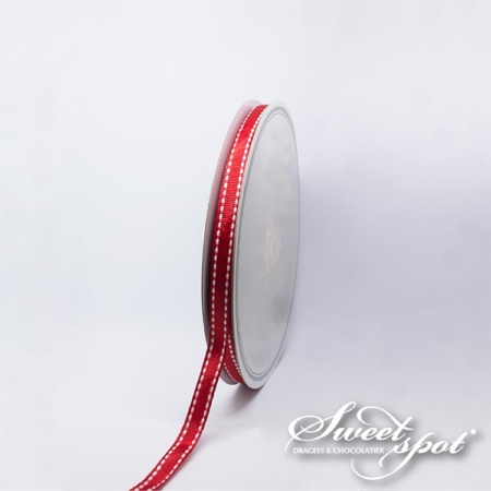 10mm Scia Ribbon - Red