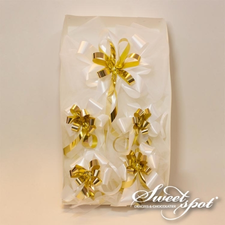 Complete Car Decoration White / Gold