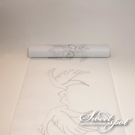 Dove Table Runner