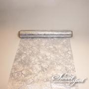 Vegetable Table Runner - Silver