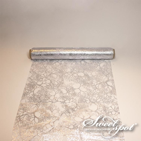 Vegetable Table Runner - Silver