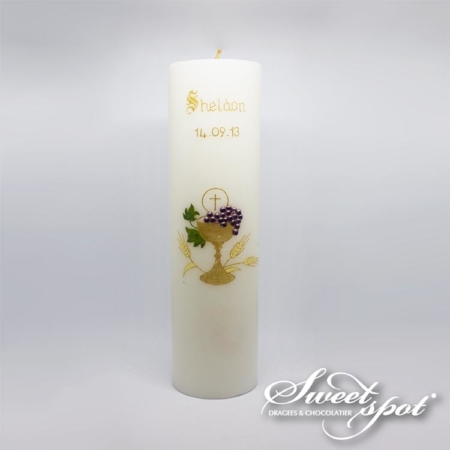 Large VIP Communion Candle