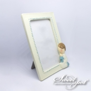 Photo Communion Frame - Blue