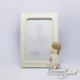 Photo Communion Frame - Rose