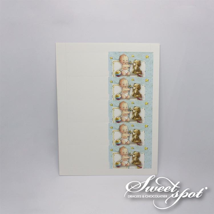 Carte Bébé Sourire