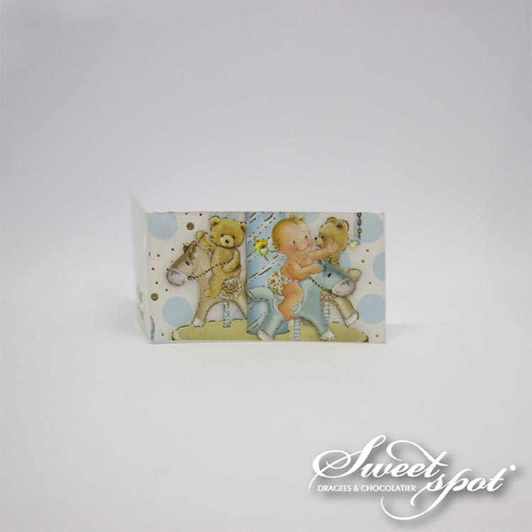 Boy Carousel Card