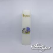 Blue Pram Candle