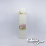 Rose Pram Candle