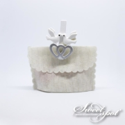 Dove and Heart Clips